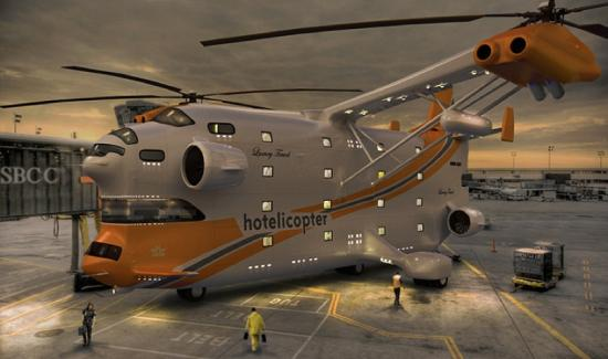 Hospede-se no hotelicóptero: o primeiro hotel voador do mundo Hotel_0