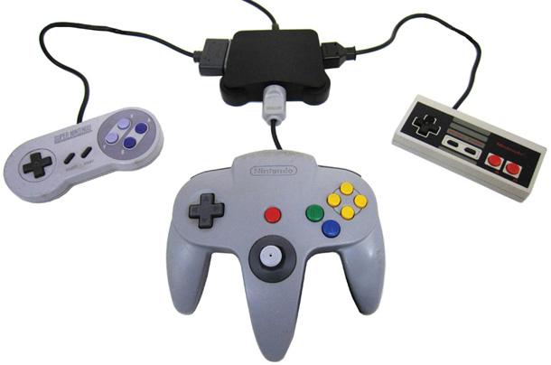 Nintendo - O Retro Adapter faz você jogar com controles classicos no Nintendo Wii Retroad