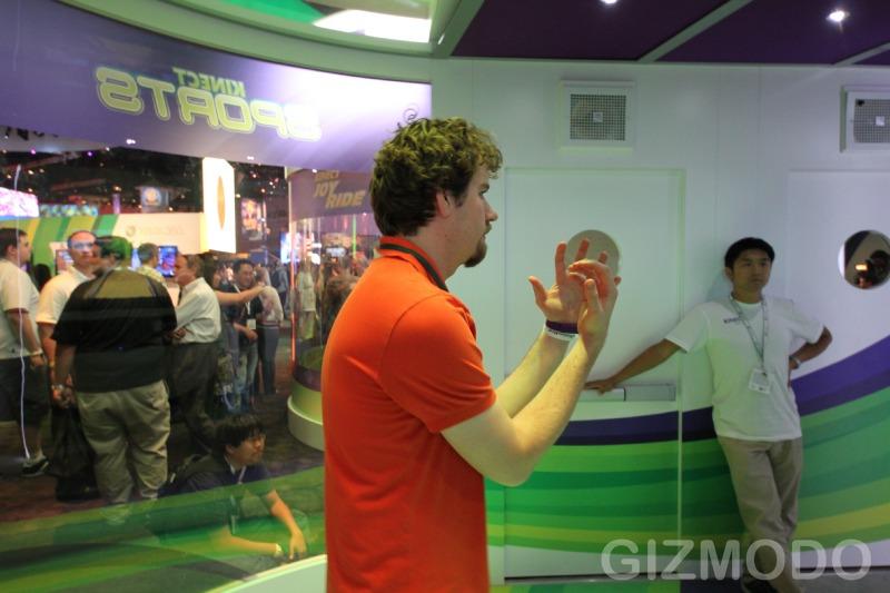 Kinect: Brincando de jogar videogame E3-338