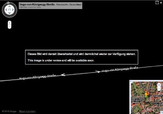 Alemanha vira um grande borrão no Google Street View Gmap_uberarbeitet