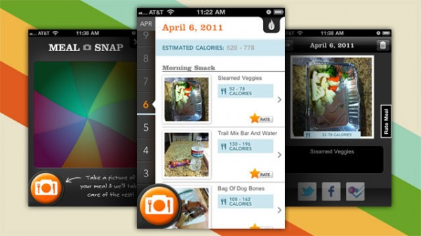A fazer dieta? Esta e a app perfeita para si! 1300-meal-snap_01-e1302126715297