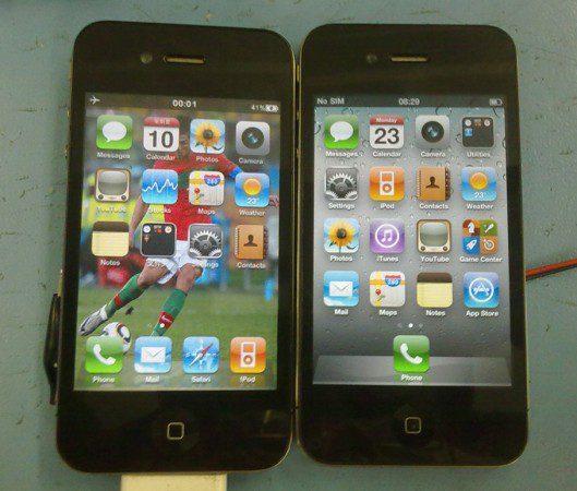 Provavelmente a i-Cópia mais perfeita que você já viu Iphone4clone-529x450