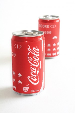 CocaCola-Space-Invader-Edition