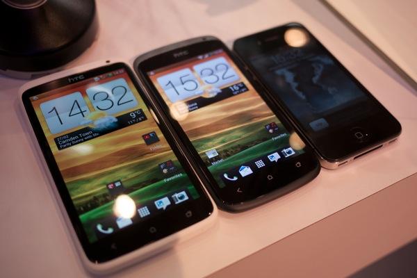 HTCOnexiPhone