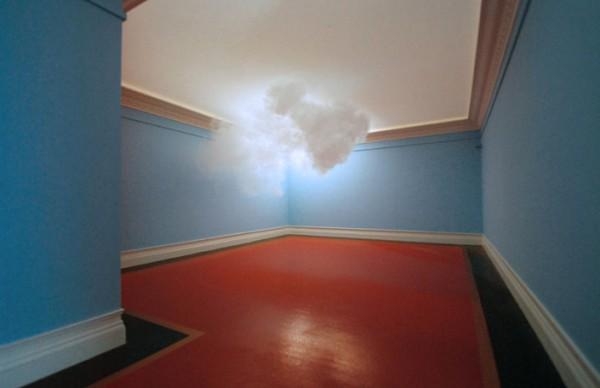Mini-nuvem em ambiente fechado.