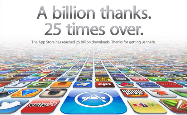App Store 25 EUA
