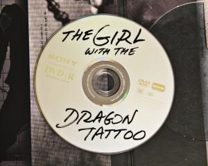 Girl with Dragon Tattoo DVD Disc