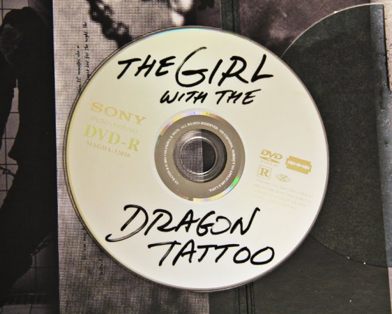 Girl with Dragon Tattoo DVD Disc