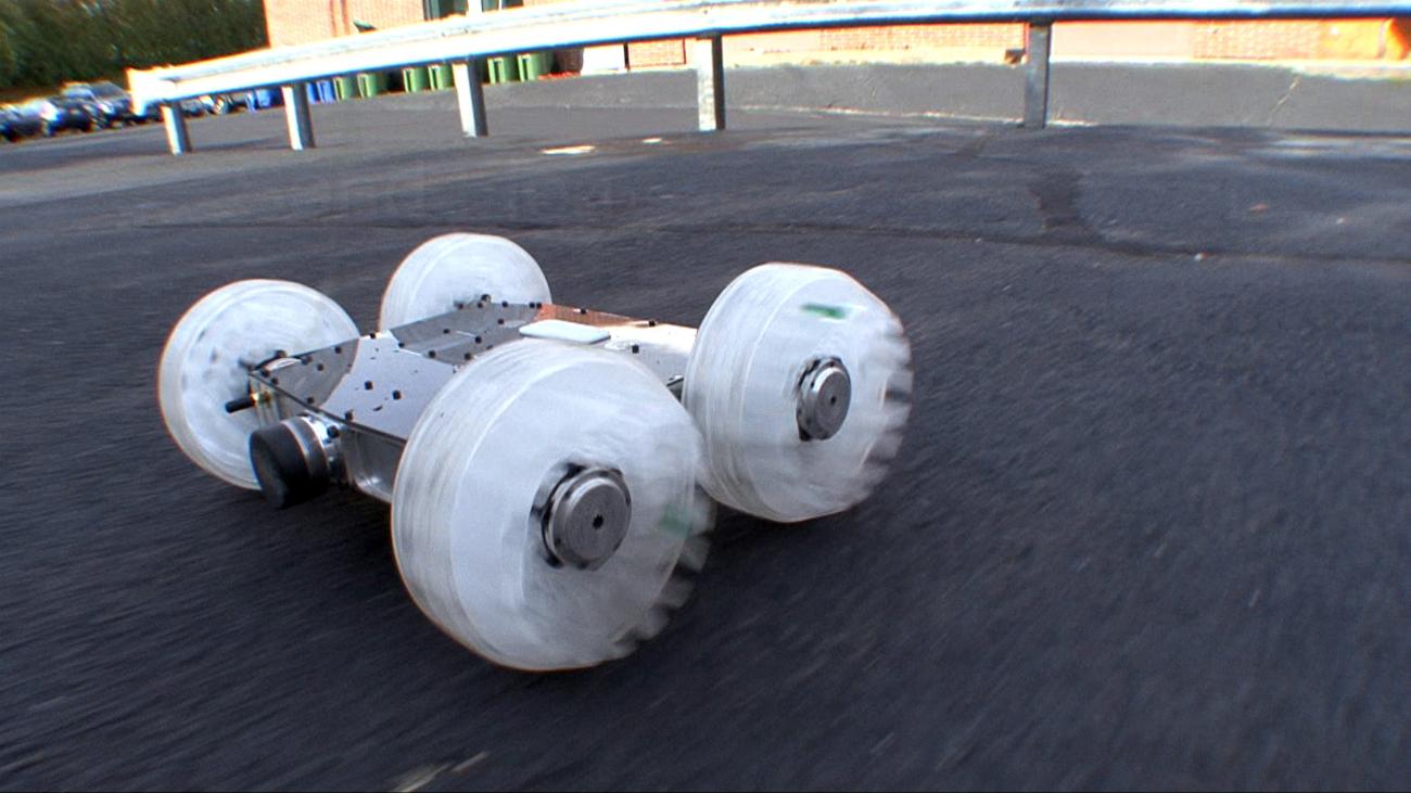 SandFlea, o robô saltador.