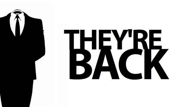 Anonymous, LulzSec e outros: eles estão de volta.