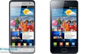 Nova imagem do Galaxy S III provavelmente é falsa: imagem da tela é quase igual à do Galaxy S II divulgada ano passado.