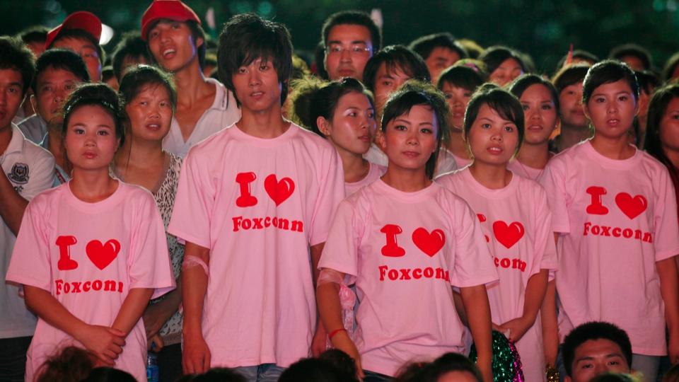 Nós amamos a Foxconn.