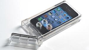Como colocar o iPhone na capinha.