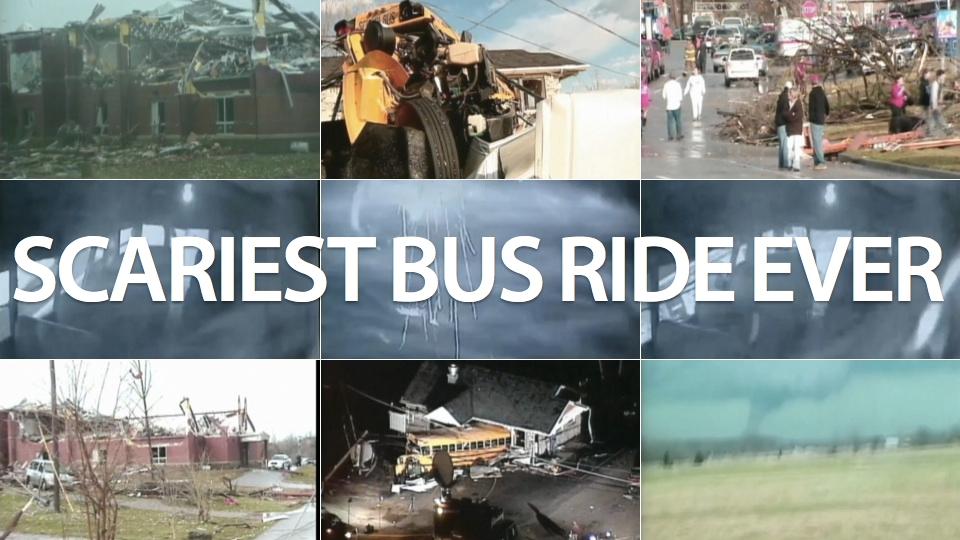 A viagem de ônibus mais assustadora.