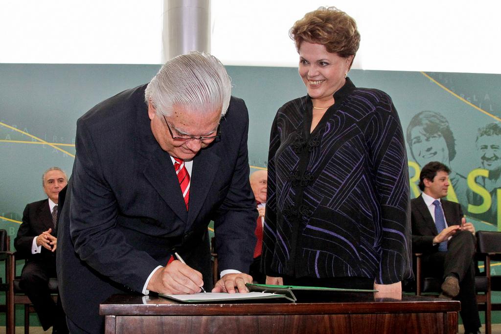 Ministro Raupp e Presidente Dilma.