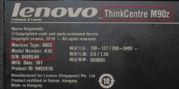 Recall do Lenovo ThinkCentre M90z.