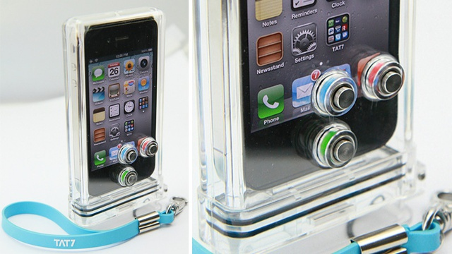 TAT7 iPhone Scuba Case.