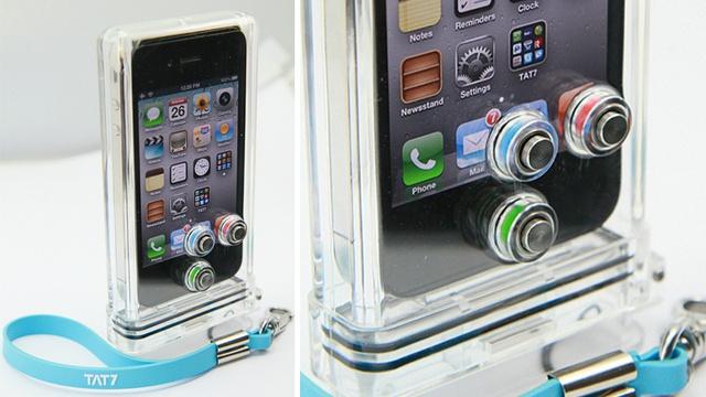 TAT7 iPhone Scuba Case.