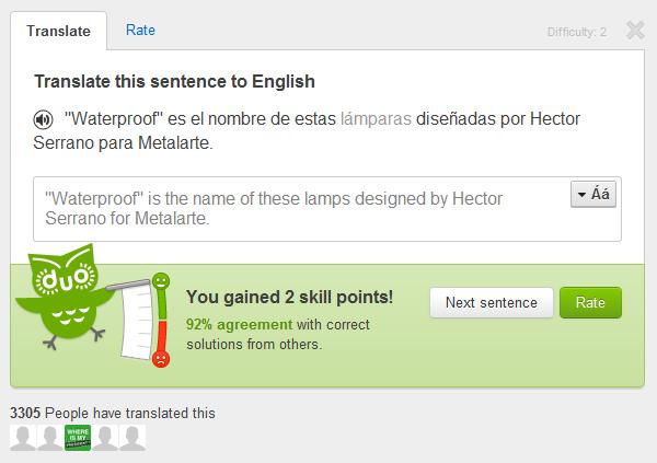 Tradução feita no Duolingo.