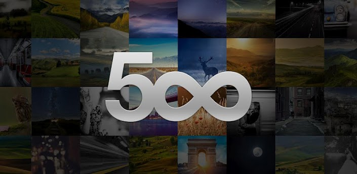 500px para Android.