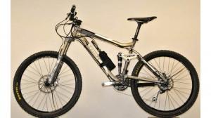 Bike com o sistema da Adaptrac.
