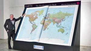 Earth, Edição Plantina: maior atlas do mundo.