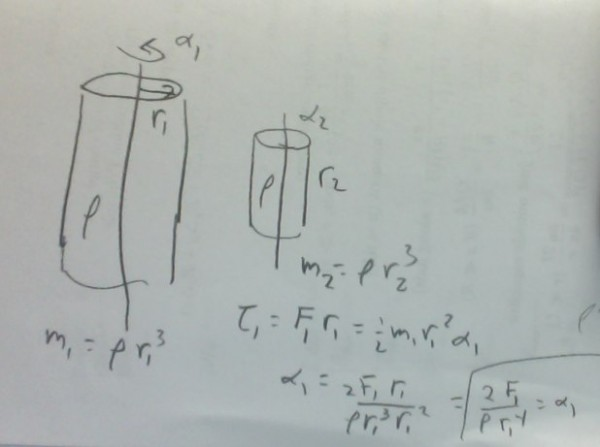 Esboço do cálculo mostrado no post.