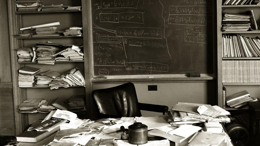 Escritório de Einstein.