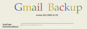 Backup do Gmail.