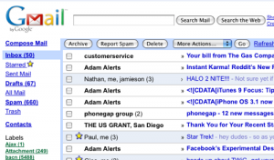 Gmail em HTML: ruim, mas funciona.