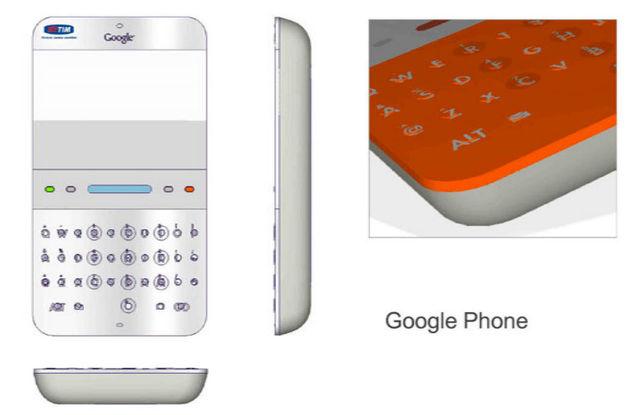 Google Phone em 2006.