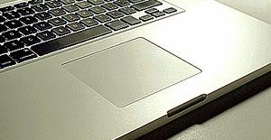 Trackpad de um MacBook.
