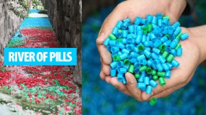 Rio de pílulas.