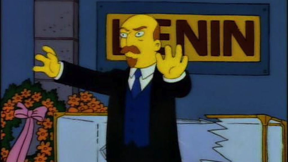 Lenin zumbi.