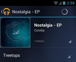 App de música.