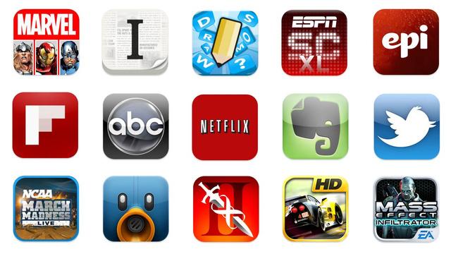 Apps para iOS.