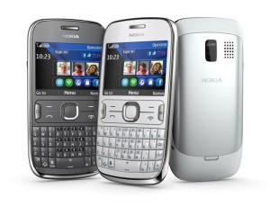 Nokia Asha 302.