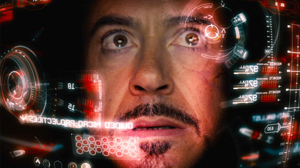 """HUD do Homem de Ferro em """"Os Vingadores"""""""