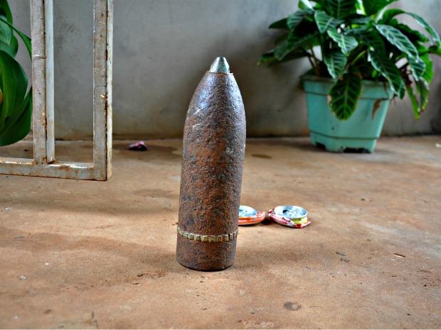 Bomba apoiadora de portas.