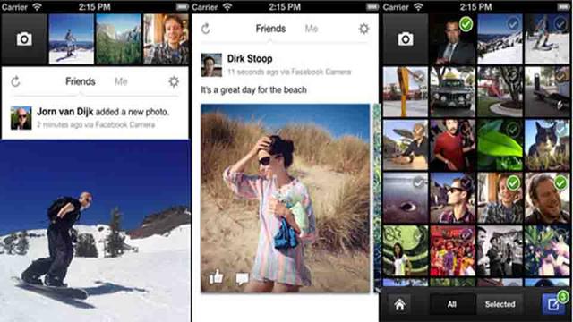 Facebook Camera.