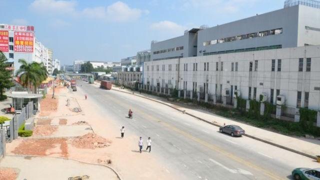 Fábrica da Foxconn, em Shenzhen, China.