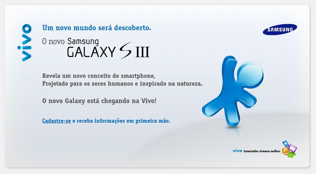 Galaxy S III na Vivo.