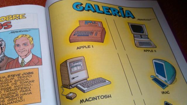 Galeria de produtos da Apple.