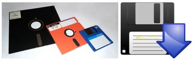 Ícone de disquete para salvar.