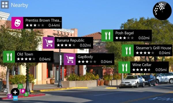 City Lens para Windows Phone.