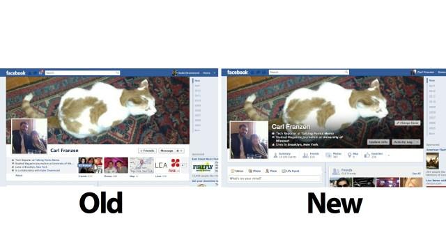 Nova Linha do Tempo do Facebook.