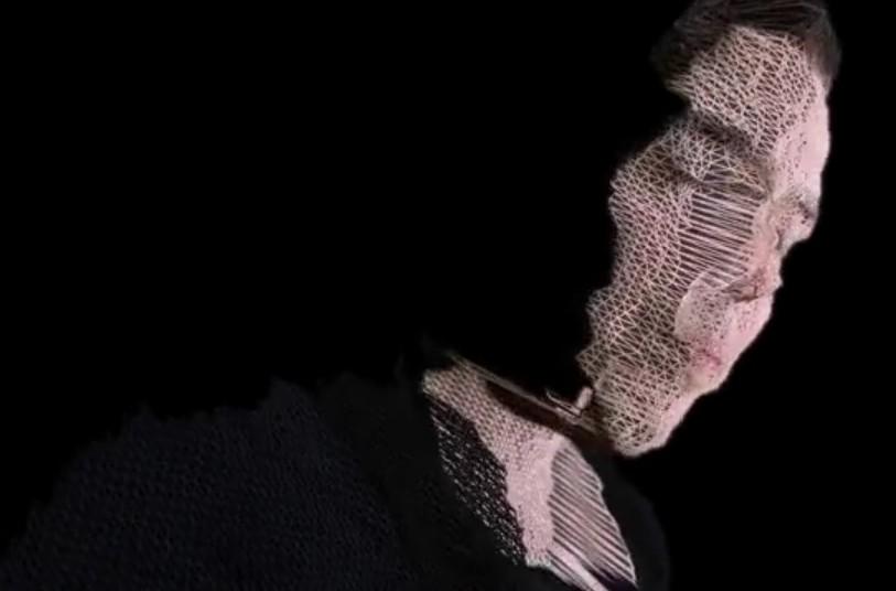Arte com Kinect.