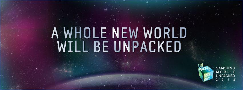 Samsung Unpacked 2012.
