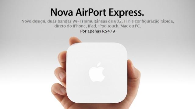 Nova AirPort Express.