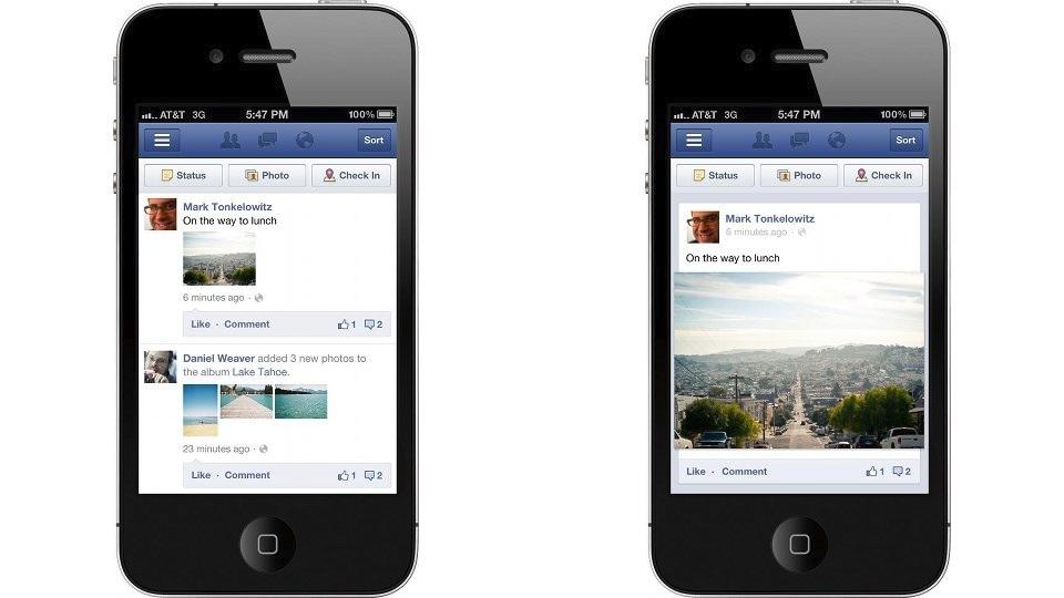 App do Facebook ficará rapidinho.
